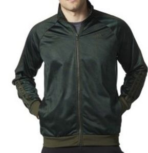 Adidas Hunter Green Track Jacket